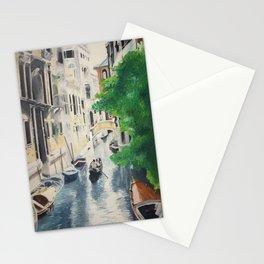 Venice digital print Stationery Cards