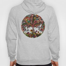 tree of life white Hoody