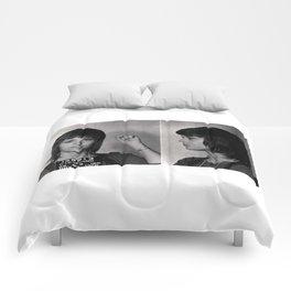 Jane Fonda Mugshot Comforters