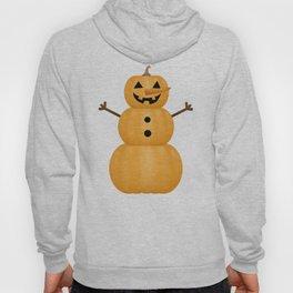 Pumpkin Snowman Hoody