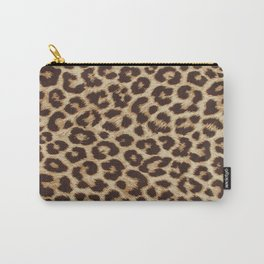 Leopard Print Carry-All Pouch