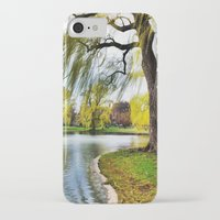 boston iPhone & iPod Cases featuring BOSTON by gulce