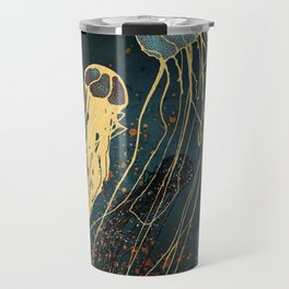 Metallic Jellyfish Travel Mug