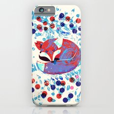 Berry fox - nostalgic iPhone 6s Slim Case