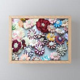 Pearl Pins Framed Mini Art Print