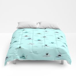 Sharkhead - Shark Pattern Comforters