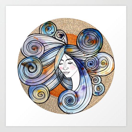 Turuncu Art Print