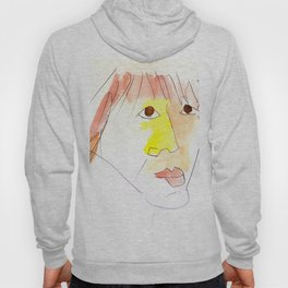 sketch of Sophie Marceau Hoody