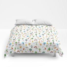 Fun on a Rainy Day Comforters