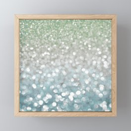 Winter Flurries Framed Mini Art Print