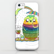 Adventure time Totoro by Luna Portnoi iPhone 5c Slim Case