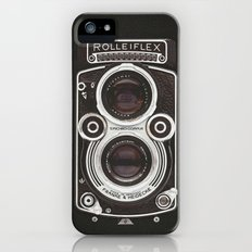 Vintage Camera 02 iPhone SE Slim Case