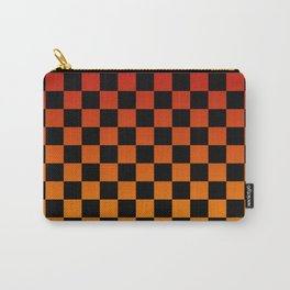 Chessboard Gradient V Carry-All Pouch