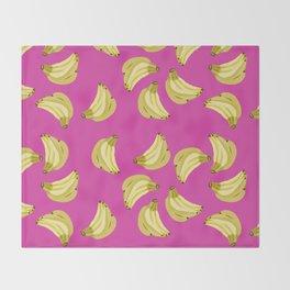 GOING BANANAS! Throw Blanket