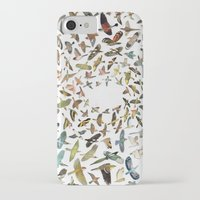 birds iPhone & iPod Cases featuring Birds by Ben Giles