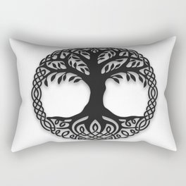 Yggdrasil, the northsmen tree of life Rectangular Pillow