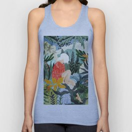 The Distracted Reader Unisex Tank Top