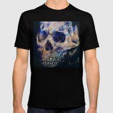 Ultraviolet Skull Black Mens Fitted Tee MEDIUM