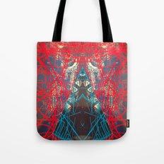 FX#505 - Kryptonian Oblongated Lines Tote Bag