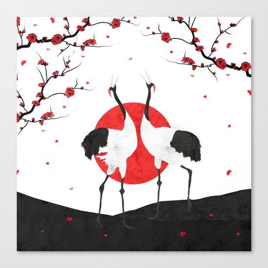 Love's Dance - Spring Version Canvas Print