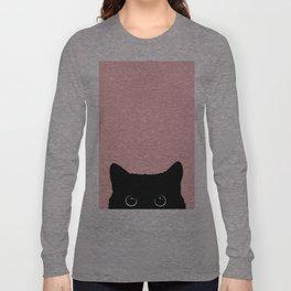 Black Cat Langarmshirt
