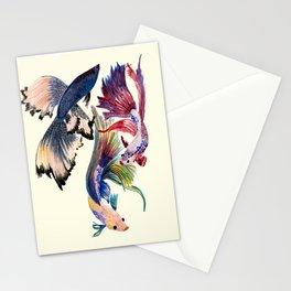 Betta fish  Stationery Cards