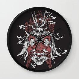 Serpents Tongue Wall Clock