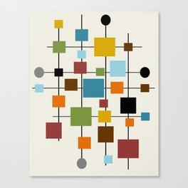 Mid-Century Modern Art 1.3 Canvas Print