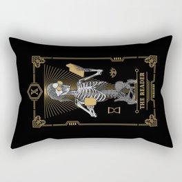 The Reader X Tarot Card Rectangular Pillow