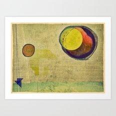 beyond planets Art Print