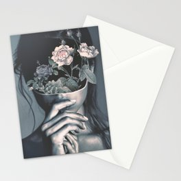inner garden Stationery Cards