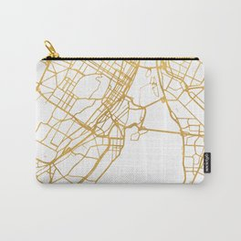 MONTREAL CANADA CITY STREET MAP ART Carry-All Pouch