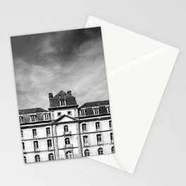Hermine Castle Monochrome Stationery Cards