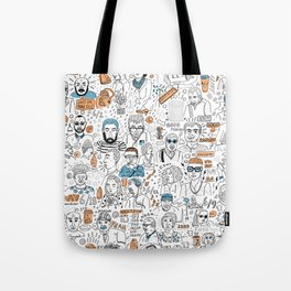 Day on the MTA Tote Bag