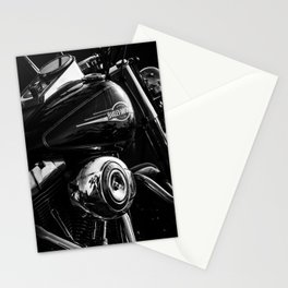 Black and Chrome  Stationery Cards