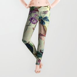 Floral and Birds VIII Leggings