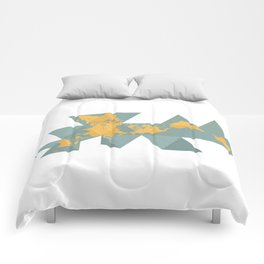 Dymaxion Map Comforters