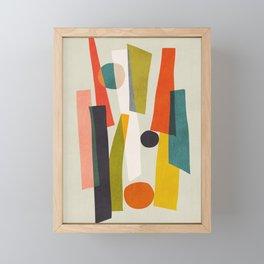 Sticks and Stones Framed Mini Art Print