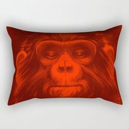 Twelfth Monkey Rectangular Pillow