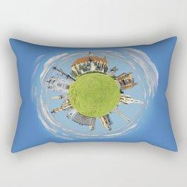 cluj napoca little planet Rectangular Pillow