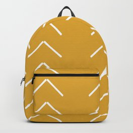 V / Yellow Backpack