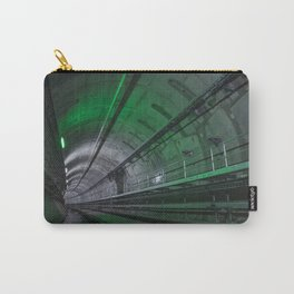 Green Tunnel Carry-All Pouch