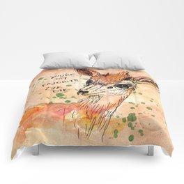 You're my Favorite Dik Dik Comforters