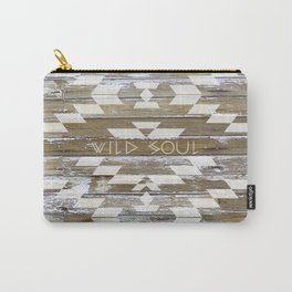 WILD SOUL - NATIVE WOOD Carry-All Pouch