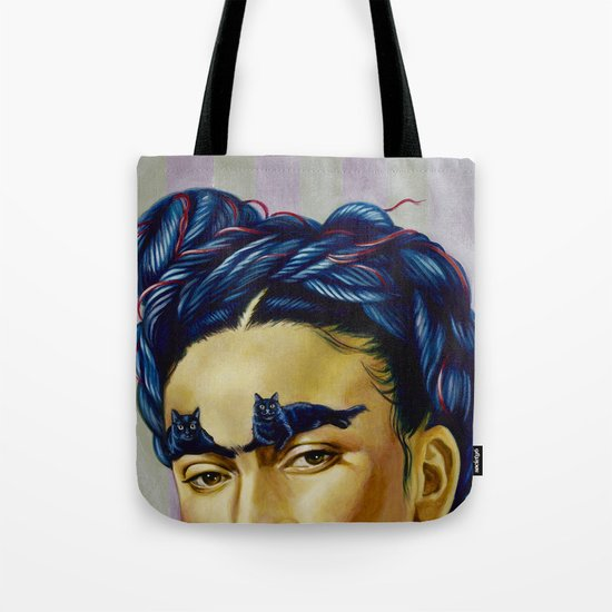 Frida Kat-lo Tote Bag