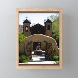 El Santuario de Chimayo Framed Mini Art Print