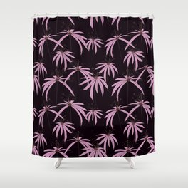 Floral darwing Pattern design by #MahsaWatercolor Shower Curtain