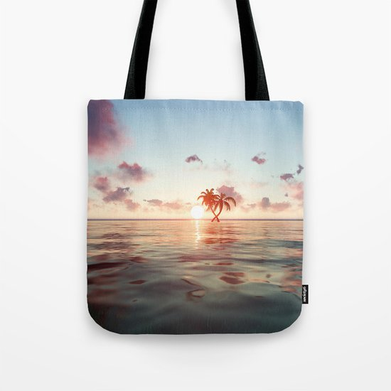 Island in the distance Tote Bag