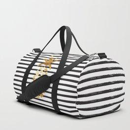 Pineapple & Stripes Duffle Bag