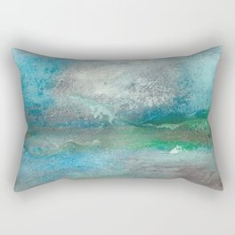 At the shore Rectangular Pillow